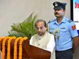 The Governor of Assam Prof. Jagdish Mukhi Delivering his speech