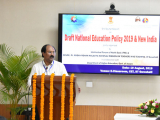 Director of Technical Education, Dr. Atul Bora Delivering his speech